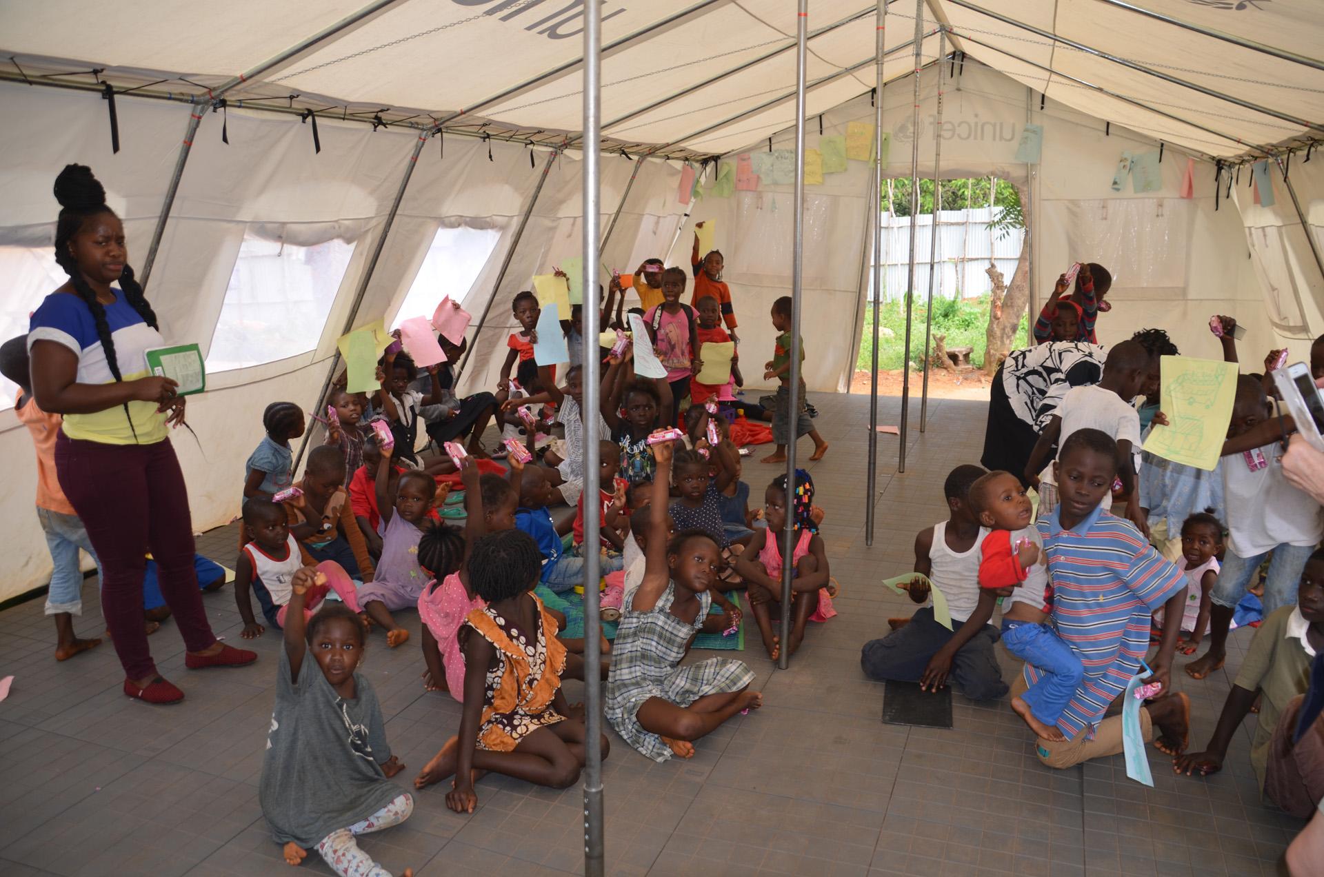 Refugee camp, Freetown