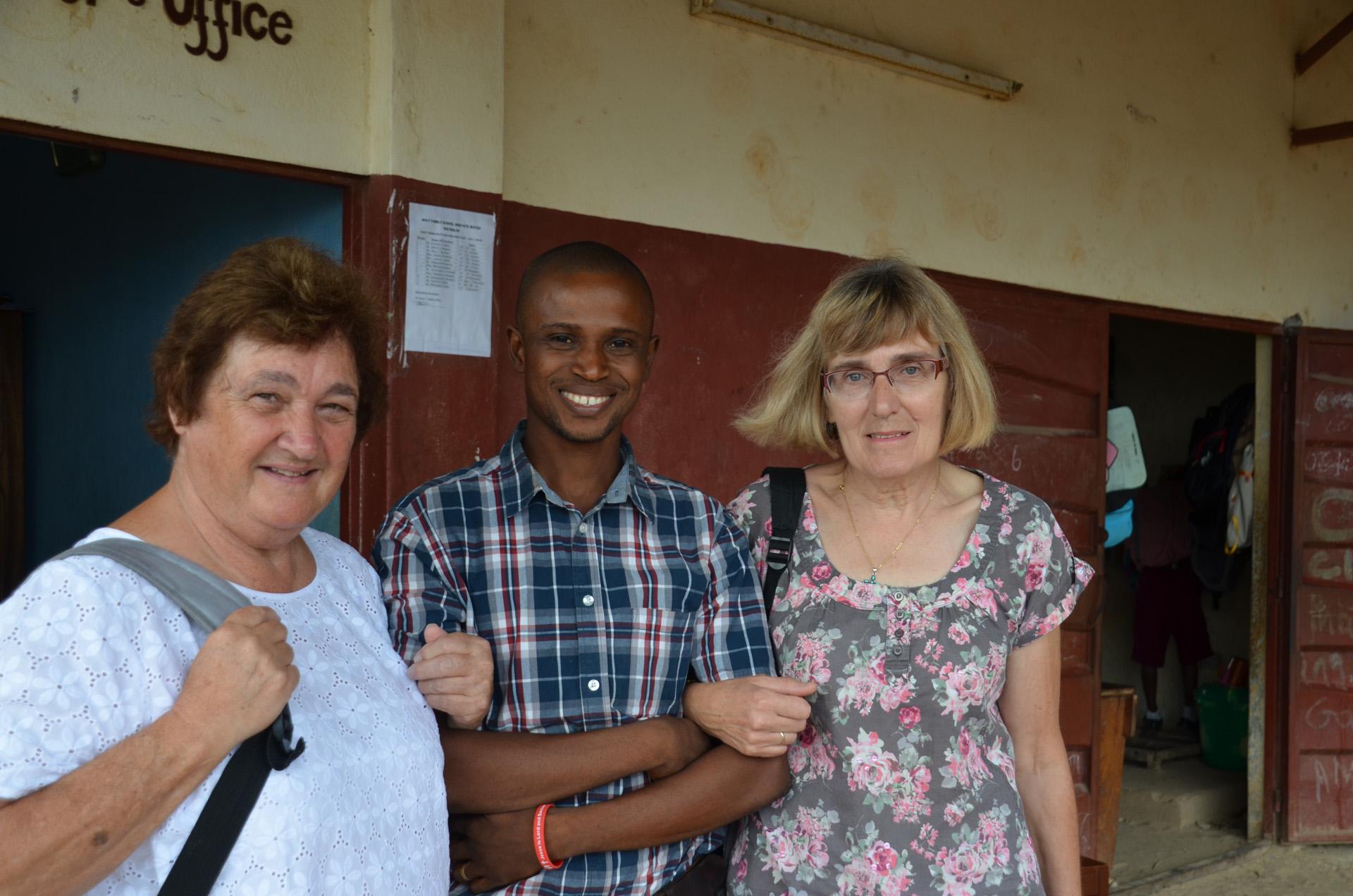 Sandra, Henri and Sarah